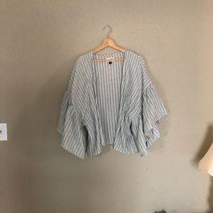 Universal Thread Striped Kimono